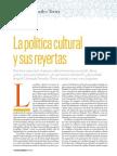 GonzalezTorres_PoliticaCulturalysusreyertas