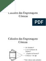 Cálculos das Engrenagens