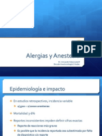 alergias y anestesia