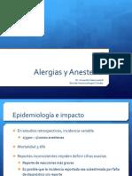 alergias y anestesia