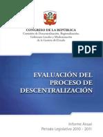 Evaluaci n Del Proceso 2010 2011