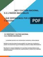 3.2 Identidad y Cultura Nacional