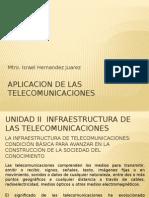 Aplicacion de Las Telecomunicaciones Unidad 3