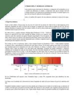 Espectroscopía y Modelos Atómicos