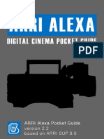 ARRI Alexa Pocket Guide 2.2