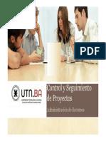 ADR -Control y Seguimiento de Proyectos