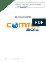 COMTEL 2014 - Programación Conferencias y Papers