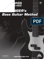 Bass Guitar Tutorial Pdf