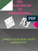 Creacion Del Autoconcepto Profesional
