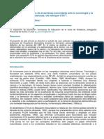 Los Futuros Profesores de Enseñanza Secundaria Ante La Sociología y La Epistemología de Las Ciencias
