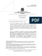 Acordo de Leniencia Modelo Portugues