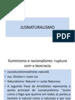 Jus Naturalism o