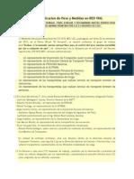 Mtc - Peso y Medidas Maximas Permitidas