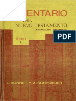 Comentario Del Nuevo Testamento Tomo I - Evangelios Sinópticos