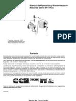 Manual de Operaciones Mant.motores Serie N14 PLUS Cummins 1