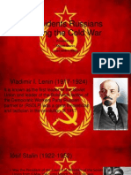 Presidentes rusos durante la guerra fría 2