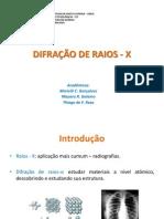 Difração de Raios - x Ppt