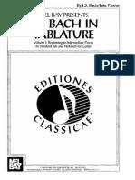 Bach Classical Guitar in Tablature