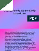 Clasificación Teorías Del Aprendizaje-Prof Raffin