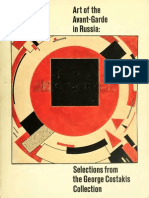 Art of the Avant-Garde in Russia Selections From the George Costakis Collection