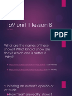 io9 unit 1 lesson b