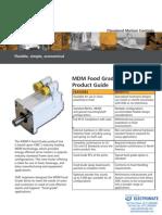 Torque Systems MDM Servo Motor Food Grade Product Guide