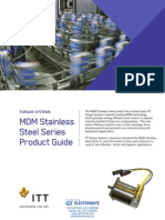 Torque Systems MDM Stainless Steel Series Product Guide