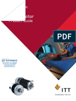 Torque Systems Brush Servomotor Product Guide