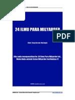 24 Ilmu Milyarder TDW