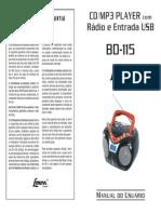 Manual Microsystem BD-115 1a Prova