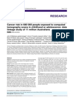 Cancer Risk in 680 000 People Exposed to Computed