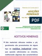 Aula - Adições Minerais