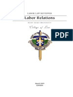 Labor Relations Reviewer