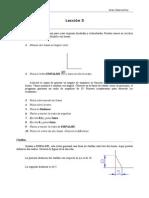 Autocad 2000 Leccion 5