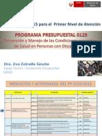 Rbc - Programa Presupuestal