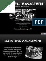Presentation Scientific Management[1]