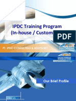 IPDC in-house Training Program - August 2014