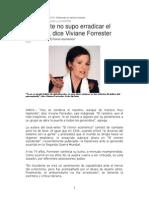 Occidente No Supo Erradicar El Racismo Dice Viviane Forrester