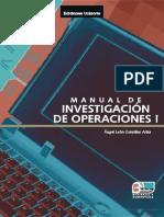 Manual de Investigacion de Operaciones I