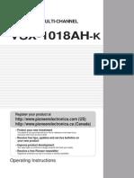 VSX 1018AH K OperatingInstructions0610