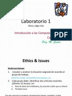 Laboratorio 1 Etica 2014