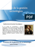 1.Procesos de Gestion Tecnologica