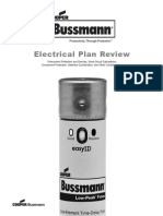 Des Bussman Electrical Plan Review
