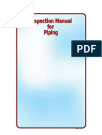 Inspection Manual for Boilers Fired Heaters Piping