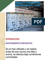 Mantenimiento a Interruptor Metal Clad (2)