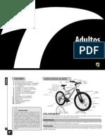 Manual Bicicleta Turbo Adulto r20-26