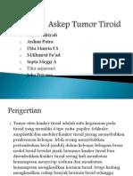 Askep Tumor Tiroid