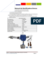 Manual Instrucciones Rectificadora de Bits Bton 200 Asur 2013 v2
