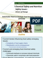 Emerging Food Chemical Safety and Nutrition Safety Issues