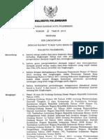 Perda Kota Palembang No 3 2013 Izin Lingkungan